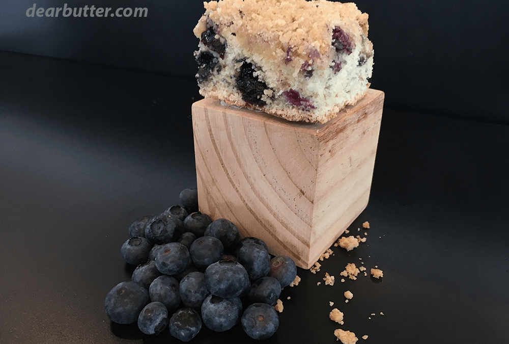 Gluten Free Blueberry Coffee Cake